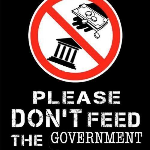 please don't feed the government