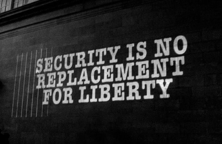 security is no replacement for liberty