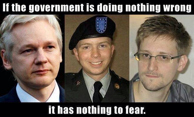 if the government is doing nothing wrong it has nothing to fear