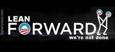 Learn forwards we're not done