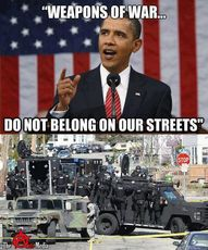 Weapons of war do not belong in our streets