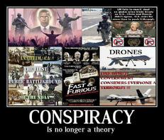 Conspiracy is no longer a theory