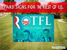Yard signs for the rest of us