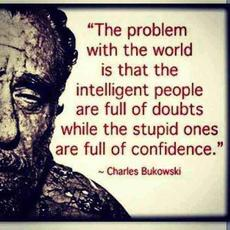 charles bukowski the problem with the world
