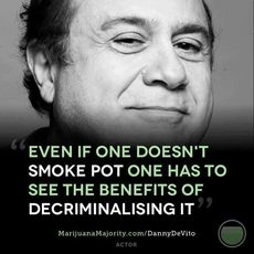 Even if one doesn't smoke pot one has to see the benefits of decriminalising it