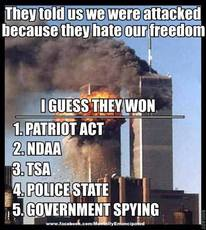 They told us we were attacked because they hate our freedom