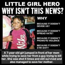 Why isn't this little girl on the news?