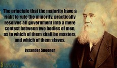 Lysander Spooner masters and slaves