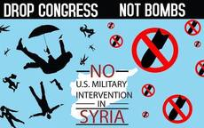 Drop congress not bombs