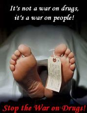 It's not a war on drugs, it's a war on people