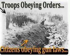 Citizens obeying gun laws