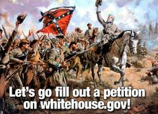 Let's go fill out a petition on whitehouse.gov
