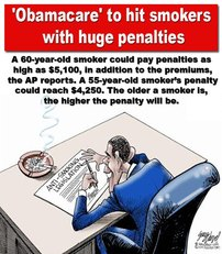 Obamacare to hit smokers with huge penalties