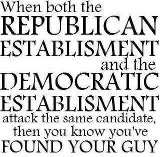 when the republicans and democrats attack the same candidate