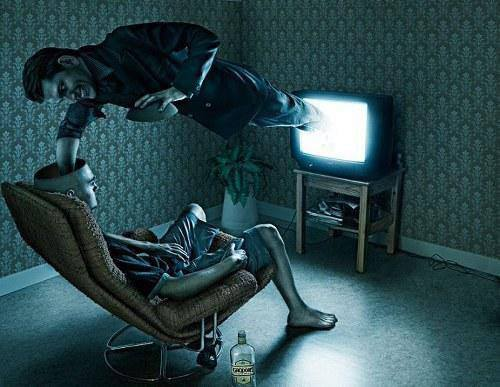 tv stealing your mind