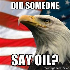 Did someone say oil?