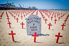 Military suicides 7 every week