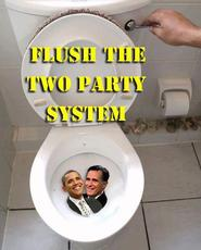 flush the two party system