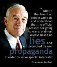 Ron Paul official reasons for going to war