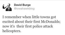 David Burge police attack helicopters
