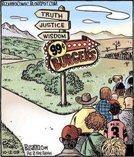 truth justice and wisdom, or burgers