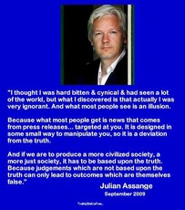 Julian Assange I thought I was hard bitten and cynical