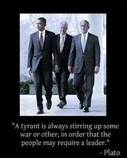 plato a tyrant is always stirring up some war