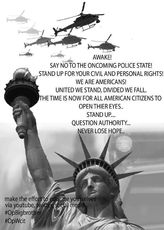 say no to the oncoming police state