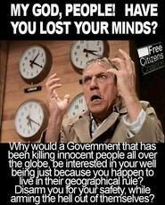 Why would a government be interested in your well being?