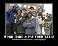 Work hard and pay your taxes