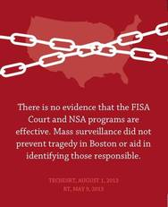 There is no evidence that the FISA court and NSA programs are effective