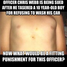 Officer Chris Webb