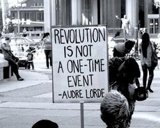 Audre Lorde Revolution is not a one time event