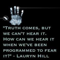 Lauryn Hill Truth comes, but we can't hear it